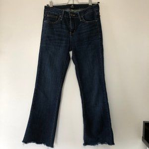 Mid Rise Ankle Kick-Flare jeans